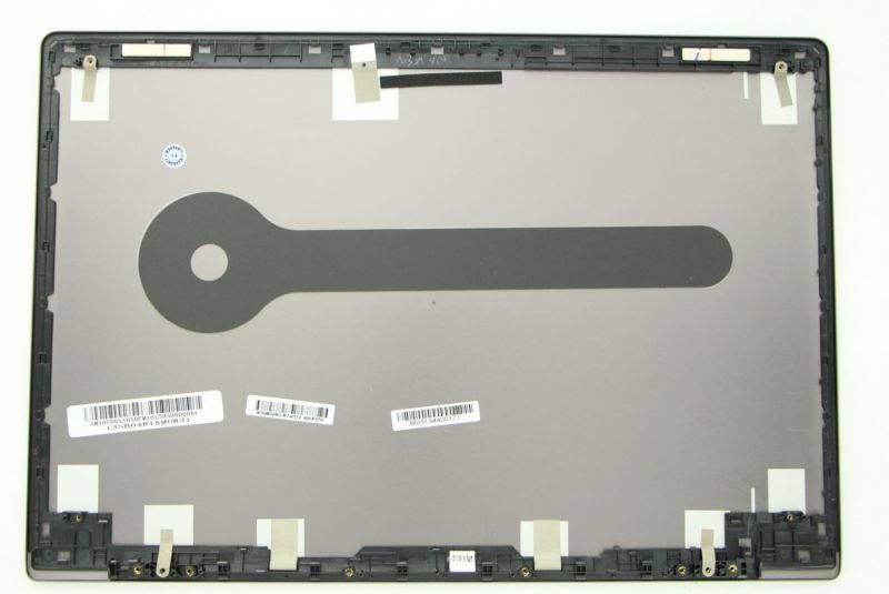 Grey LCD Cover for non touch screen HD laptop