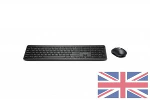 Asus Black W2000 UK keyboard and mouse