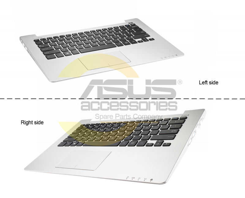 Asus Grey Latin Spanish keyboard