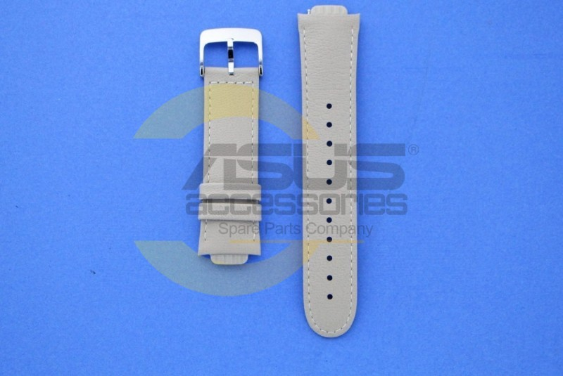 Beige Leather Watch Strap For Zenwatch