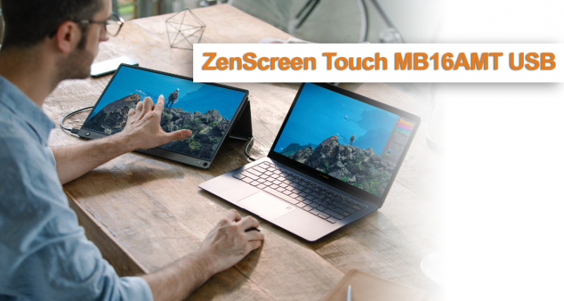 Asus ZenScreen Touch MB16AMT USB