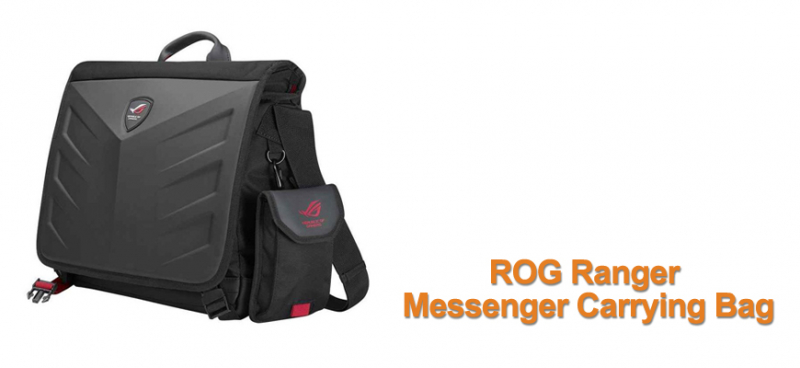 Asus ROG Ranger messenger carrying bag