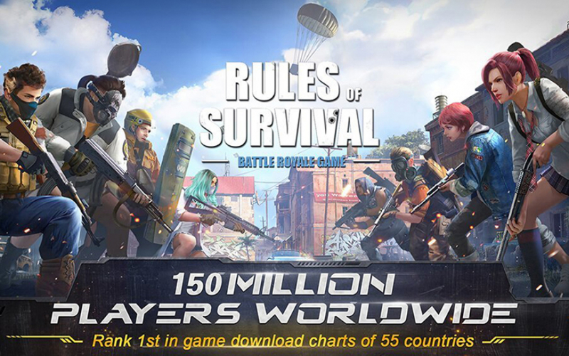 Rules of Survival (120 FPS)