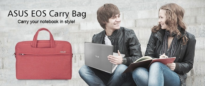 Red EOS ASUS Carry or Shoulder bag