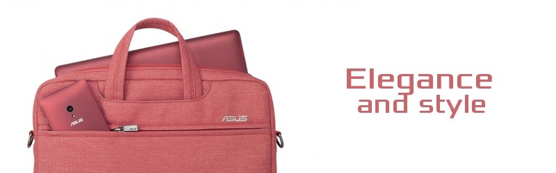 Carry and protect your laptop in red