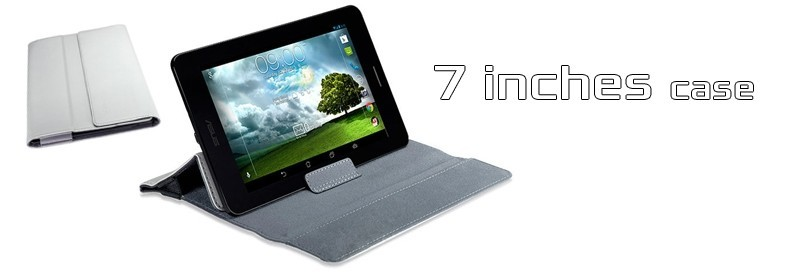 White versa sleeve : 7 Inches case by Asus