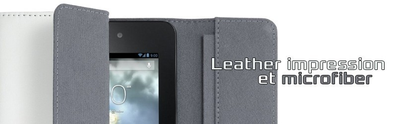 Leather tablet protection